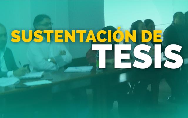 Sustentación tesis  Doris Stella Tejeda Puentes