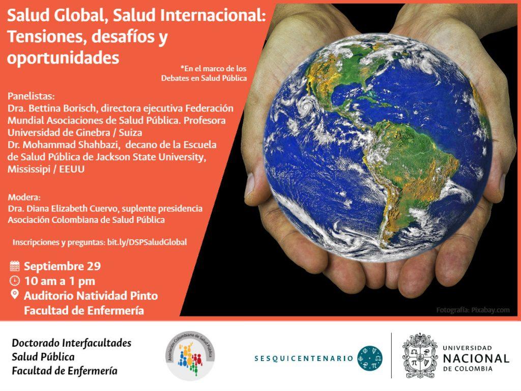 Invitación Debate Salud Global
