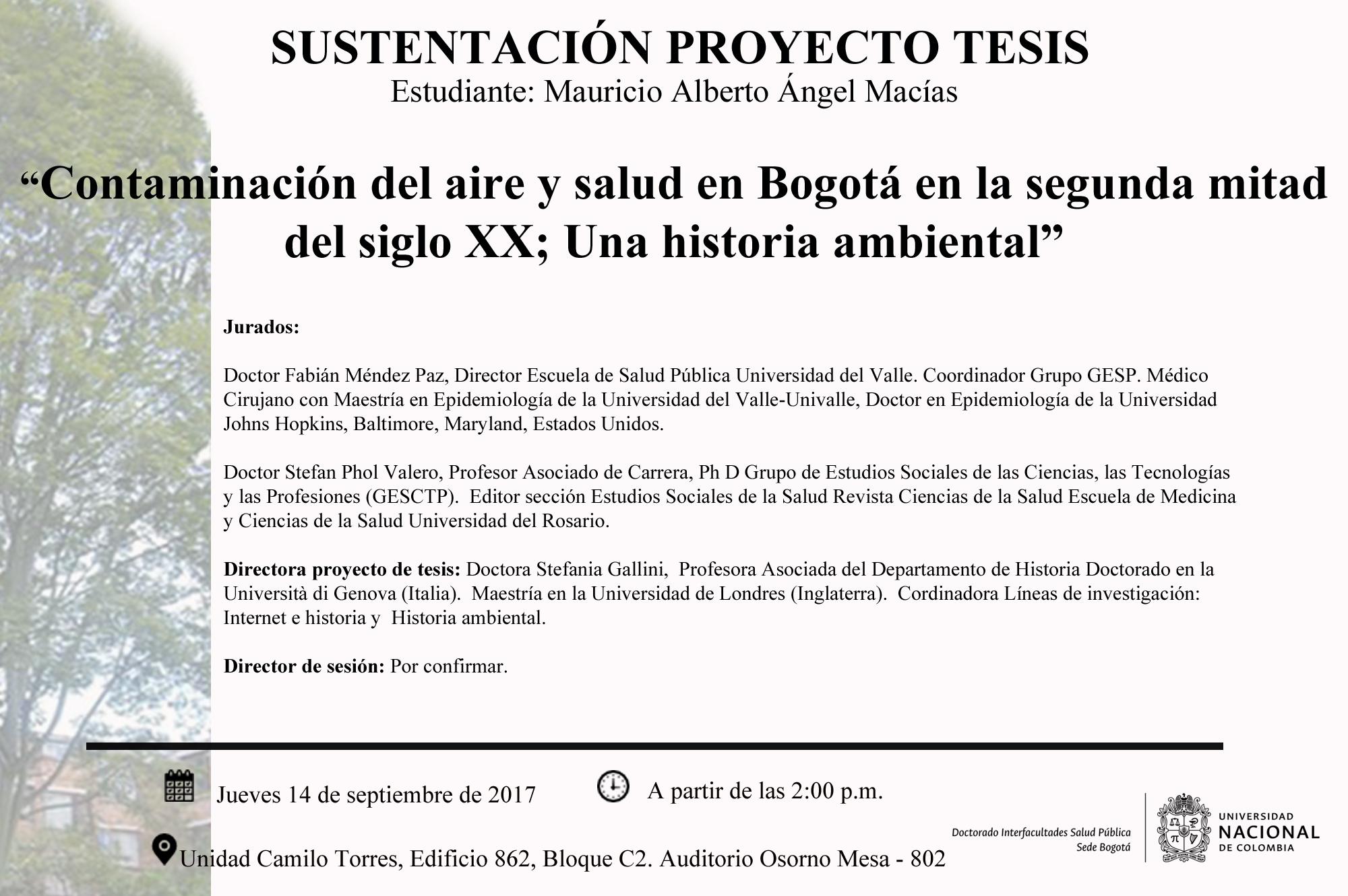 sustentcion proyecto de tesis_Mauricio Alberto Ángel Macías