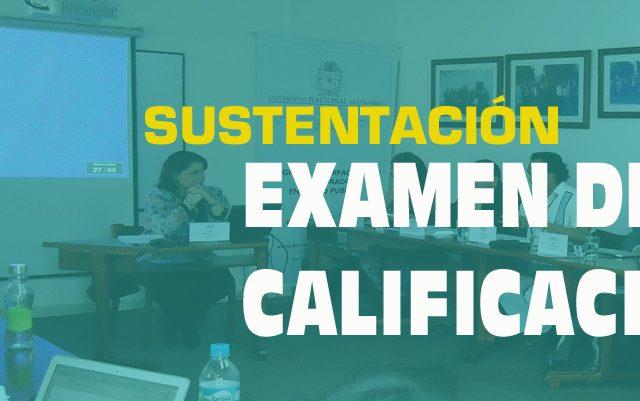 Examen de calificación: Catalina Gómez Villamizar