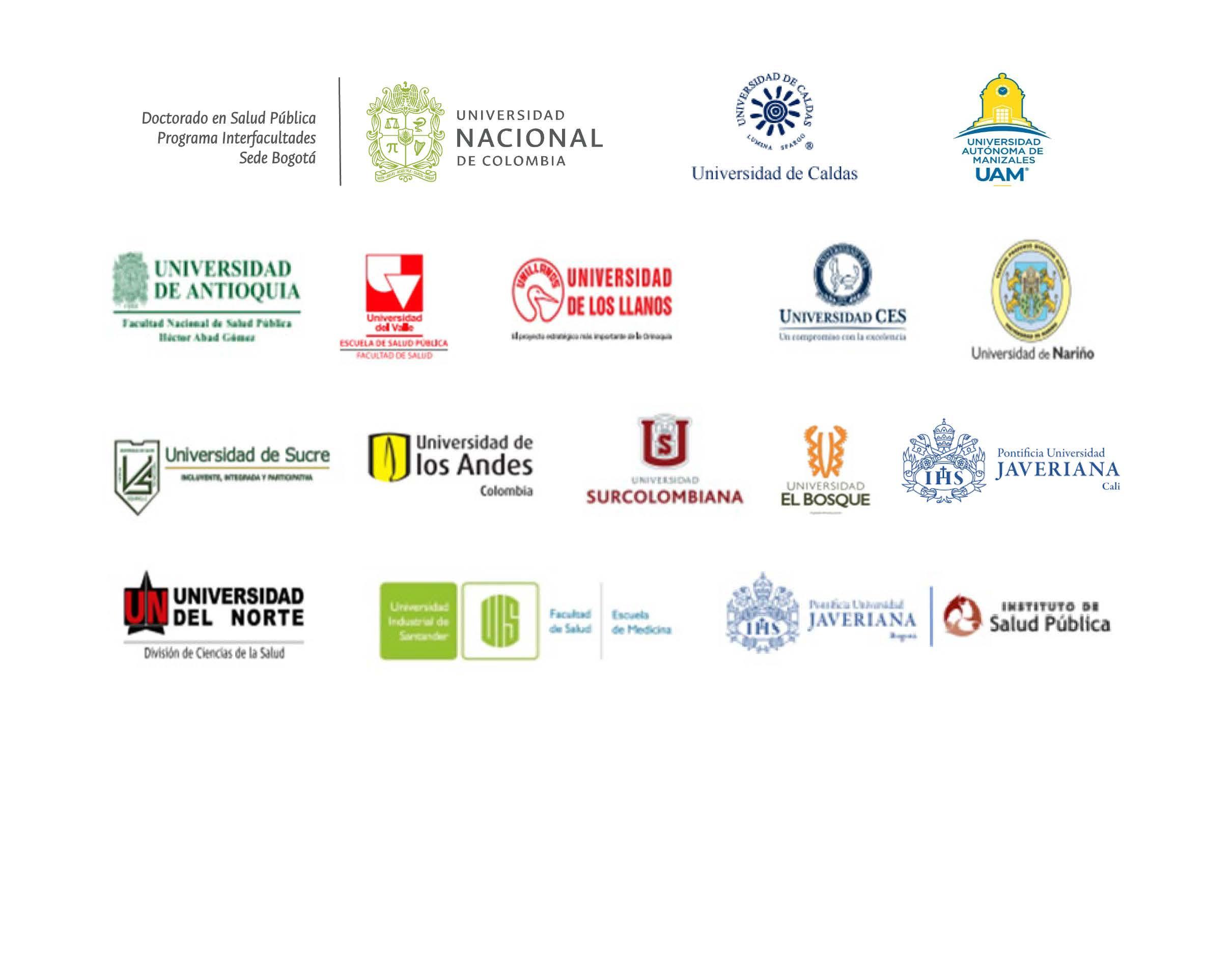 logos universidades organziadoras
